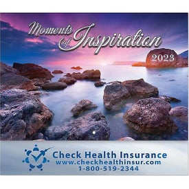 Moments of Inspiration Stapled Wall Calendars (2022)
