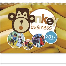 Monkey Business Appointment Calendar Giveaways
