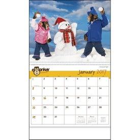 Custom Monkey Business Appointment Calendar