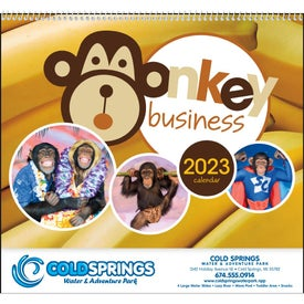 Monkey Business Appointment Calendar (2017)
