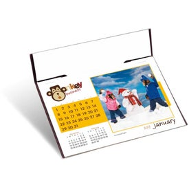 Promotional Monkey Business Desk Calendar