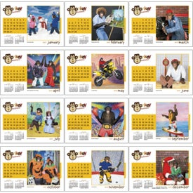 Customized Monkey Business Desk Calendar