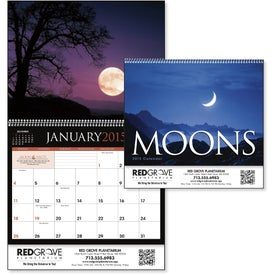 Moons Calendar with Your Logo