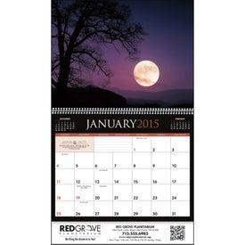 Printed Moons Calendar