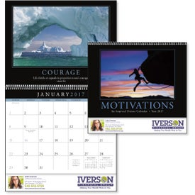 Motivations Appointment Calendar with Your Logo