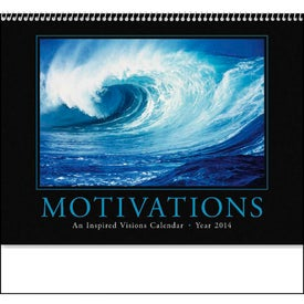 Monogrammed Motivations Appointment Calendar