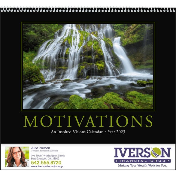 Motivations Appointment Calendar