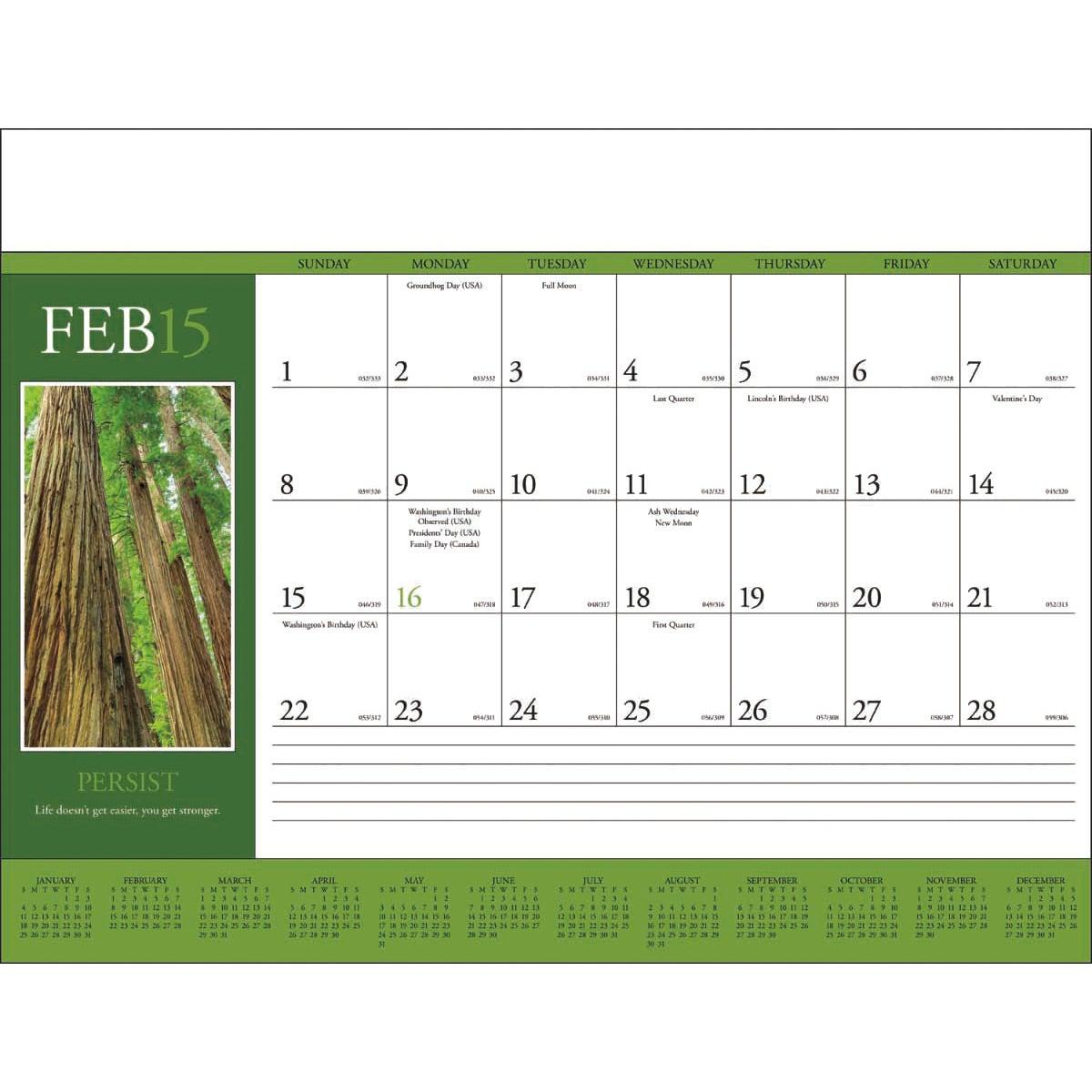 Blank Calendar Desk Pad : Large desk pad calendar new template site