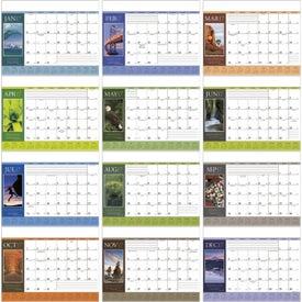 Custom Motivations Desk Pad Calendar