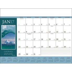 Motivations Desk Pad Calendar for Your Company