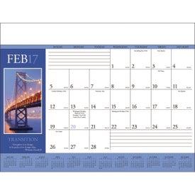 Advertising Motivations Desk Pad Calendar