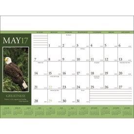 Promotional Motivations Desk Pad Calendar