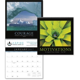 Motivations Executive Calendar for Your Company