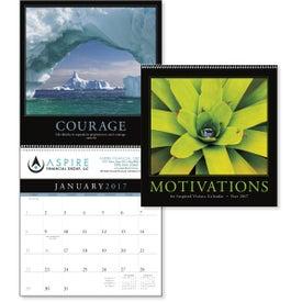 Motivations Executive Calendar for Your Company
