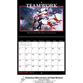 Company Motivations Wall Calendar