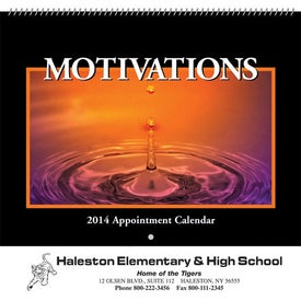 Motivations Wall Calendar (Spiral)