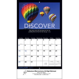 Personalized Motivations Wall Calendar