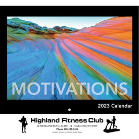 Motivations Wall Calendar (Stapled)