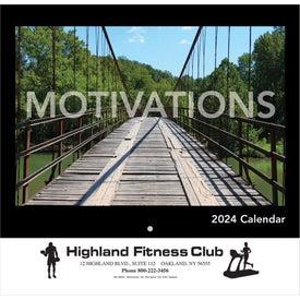 Motivations Wall Calendar (Stapled)