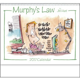 Murphy's Law Calendar for Marketing