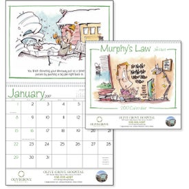 Murphy's Law Calendar Branded with Your Logo