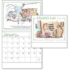Murphy's Law Calendar with Your Logo