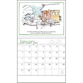 Murphy's Law Calendar Printed with Your Logo