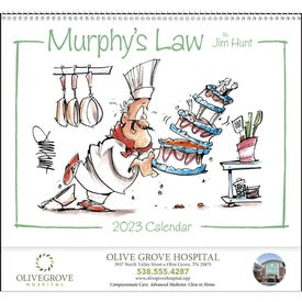 Imprinted Murphy's Law Calendar