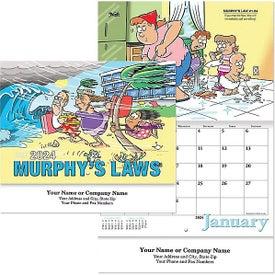Murphy's Law Wall Calendar (2020)
