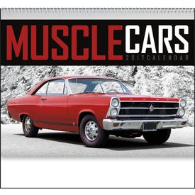 Personalized Muscle Cars Appointment Calendar