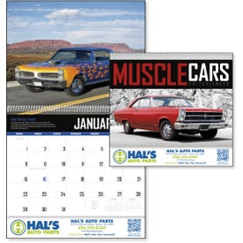 Muscle Cars Appointment Calendar for your School