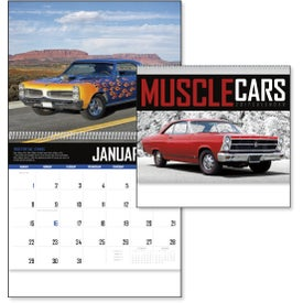 Muscle Cars Appointment Calendar Imprinted with Your Logo