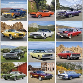 Muscle Cars Appointment Calendar for Your Church