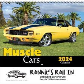 Customized Muscle Cars Wall Calendar