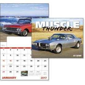 Muscle Thunder Window Calendar, English for Your Church