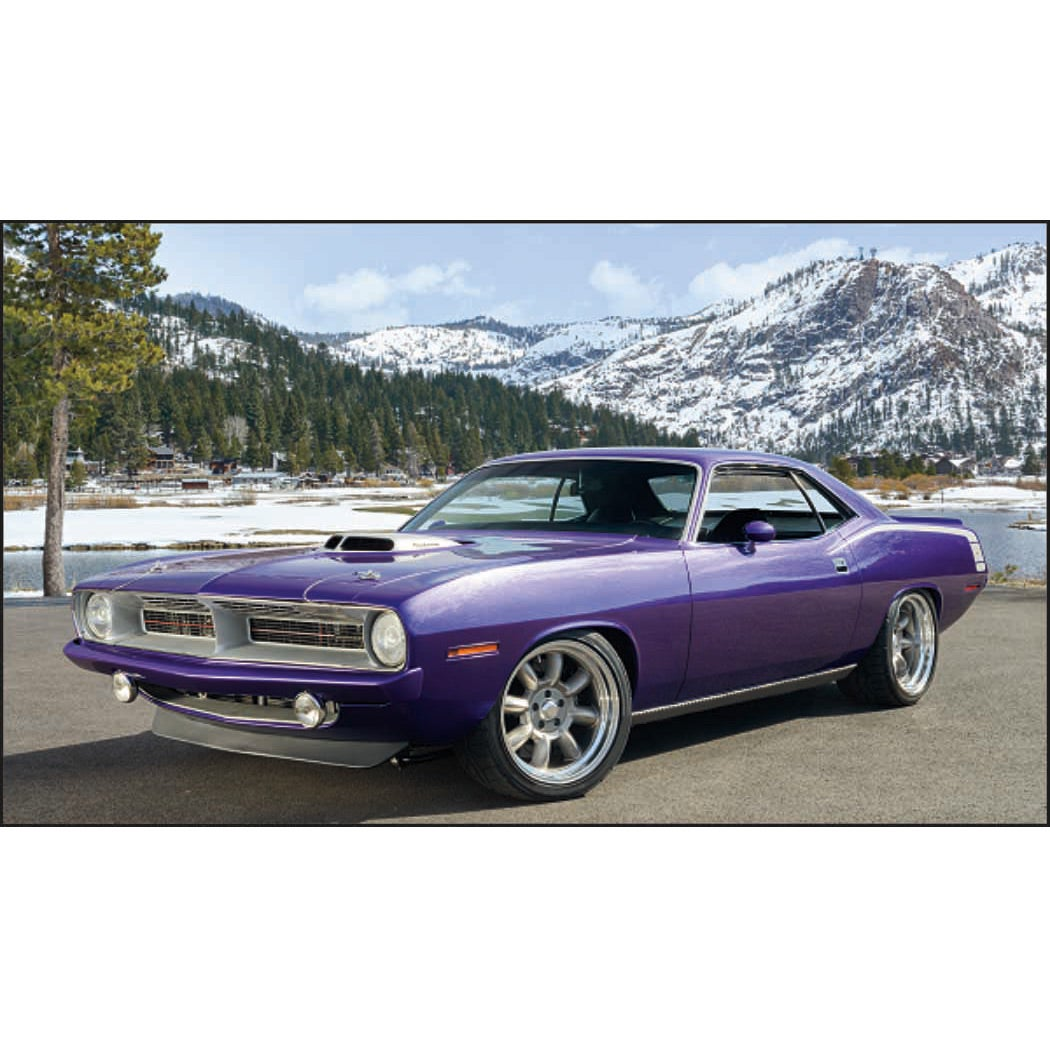 Muscle Cars - Executive Calendar (2017)