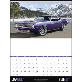 Printed Muscle Cars - Executive Calendar
