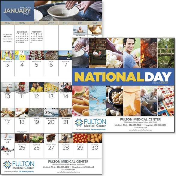See Item National Day Calendar