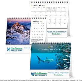 National Geographic Photography Large Desk Calendar