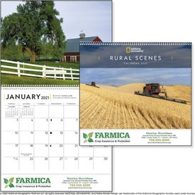 National Geographic Rural Scenes Calendar
