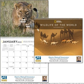 National Geographic Wildlife of the World Calendar