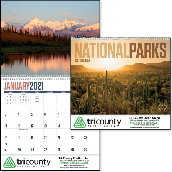 See Item National Parks Appointment Calendar