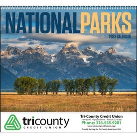 Advertising National Parks Appointment Calendar