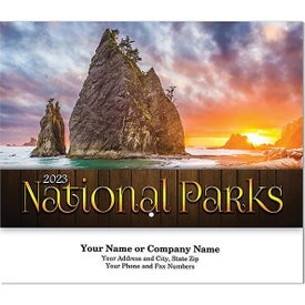 National Parks Wall Calendar (Stitched)