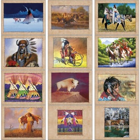 Customized Native American Art Appointment Calendar
