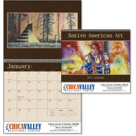 Advertising Native American Art Appointment Calendar