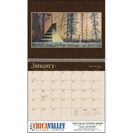 Imprinted Native American Art Appointment Calendar