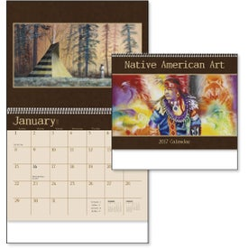Promotional Native American Art Appointment Calendar