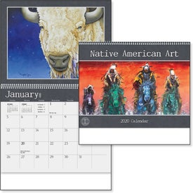 Native American Art Appointment Calendar (2020)