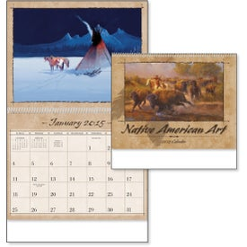Native American Art Appointment Calendar for Advertising